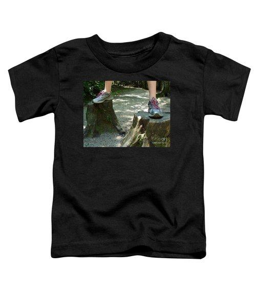 Tree Stump Stilts Toddler T-Shirt