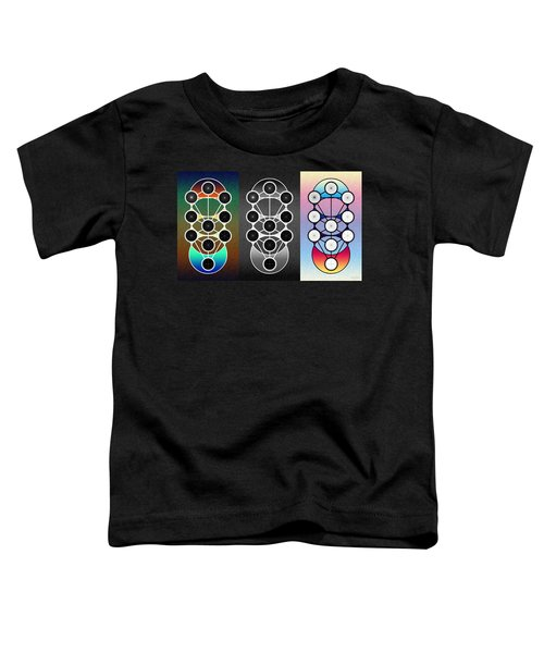 Tri-kabalah Chart Toddler T-Shirt