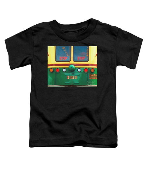 Trolley Car - Digital Art Toddler T-Shirt
