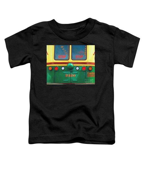 Trolley Car - Digital Art Toddler T-Shirt