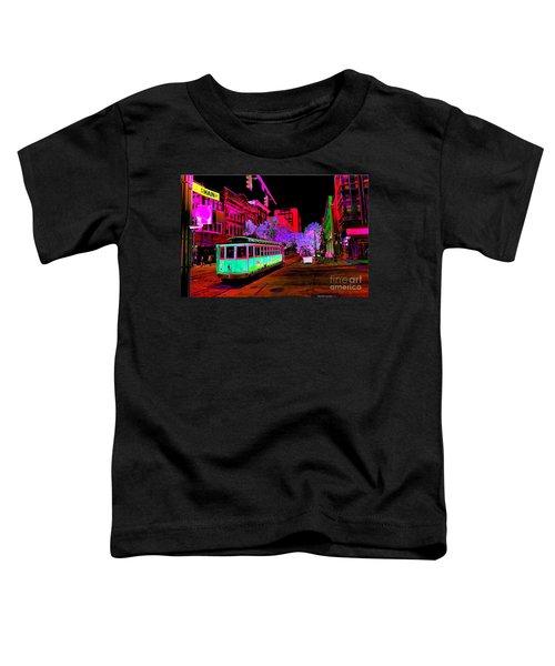 Trolley Night Digital  Toddler T-Shirt