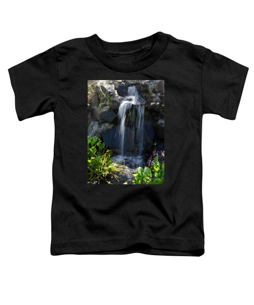 Tropical Waterfall  Toddler T-Shirt