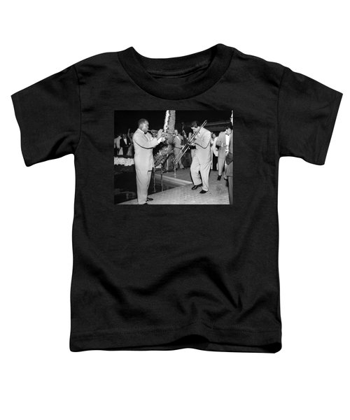 Trumpeter Louis Armstrong Toddler T-Shirt