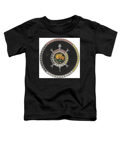 Tulip Turtle Toddler T-Shirt