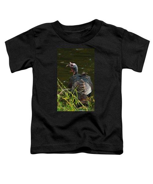 Turkey At Lake Toddler T-Shirt