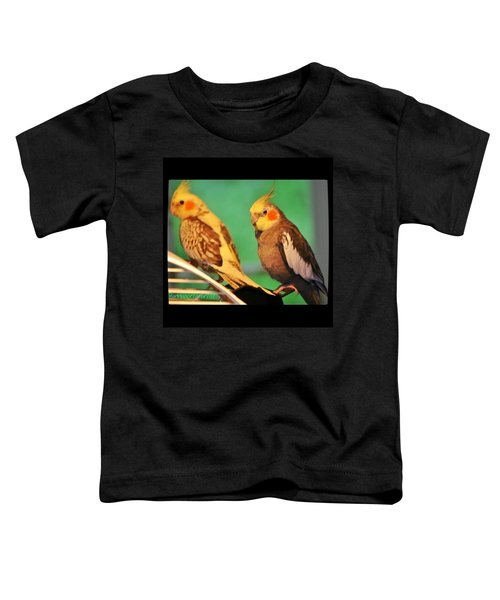 Two Tiels Chillin Toddler T-Shirt