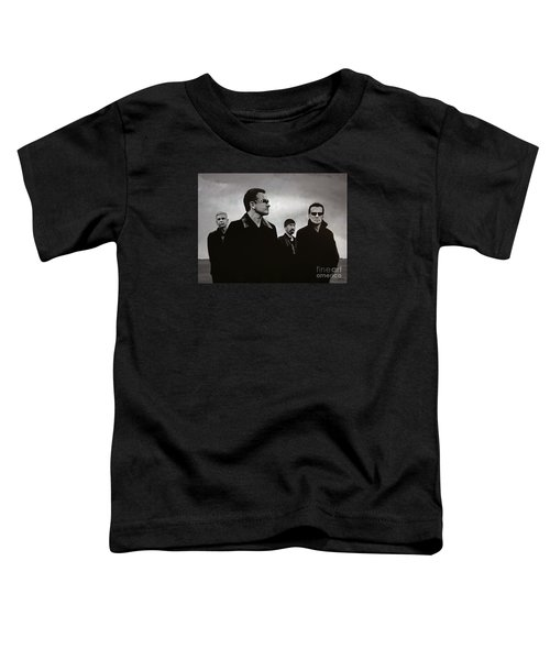 U2 Toddler T-Shirt by Paul Meijering