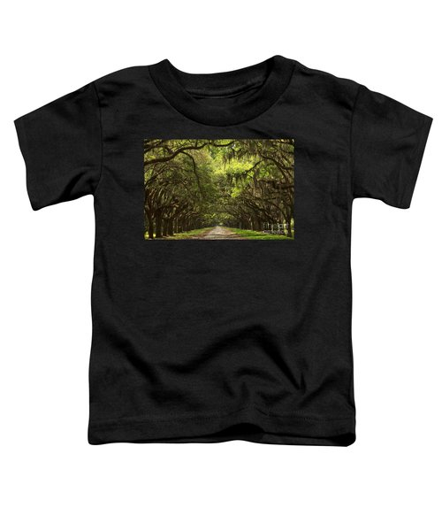 Under The Ancient Oaks Toddler T-Shirt
