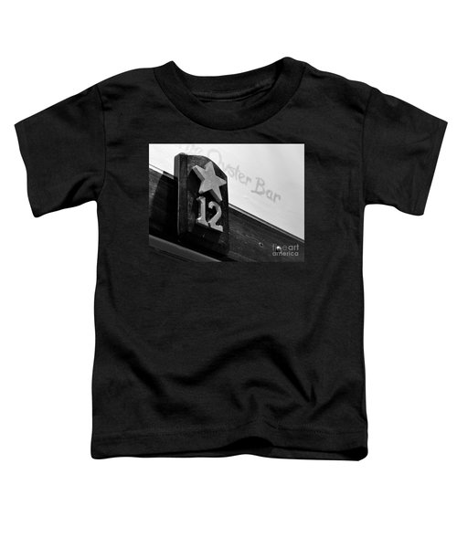 Union Oyster House Booth Boston Ma Toddler T-Shirt