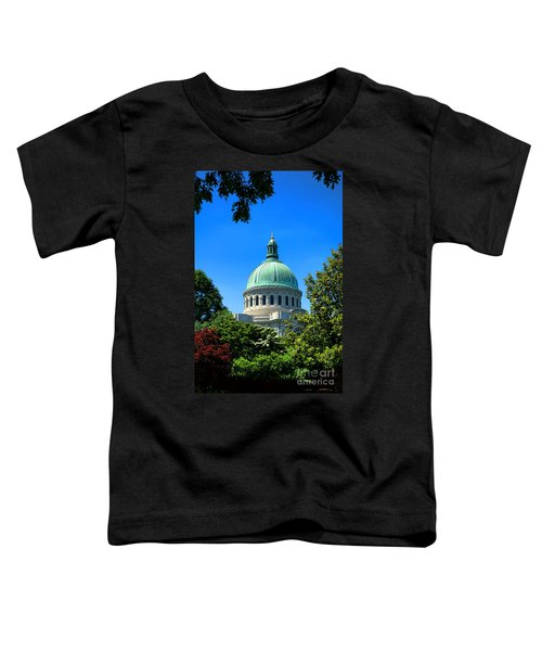 United States Naval Academy Chapel Toddler T-Shirt