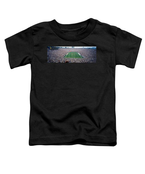 University Of Michigan Football Game Toddler T-Shirt by Panoramic Images