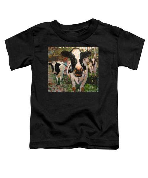 Up Front Cows Toddler T-Shirt