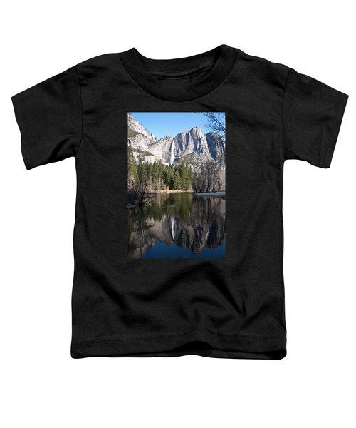 Upper Yosemite Fall Toddler T-Shirt
