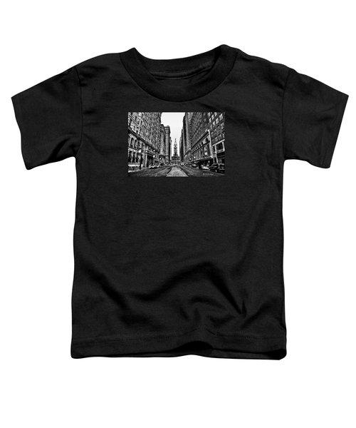 Urban Canyon - Philadelphia City Hall Toddler T-Shirt