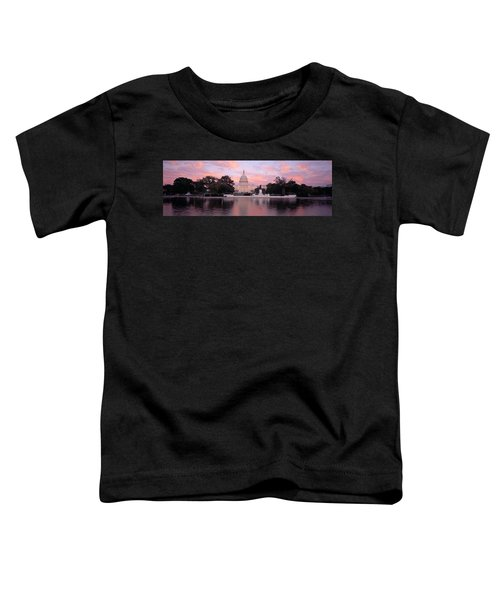 Us Capitol Washington Dc Toddler T-Shirt