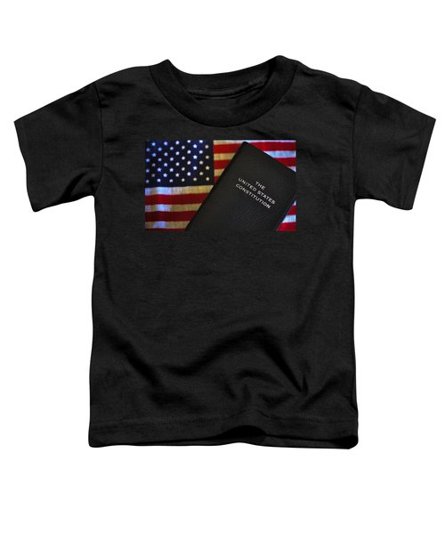 United States Constitution And Flag Toddler T-Shirt