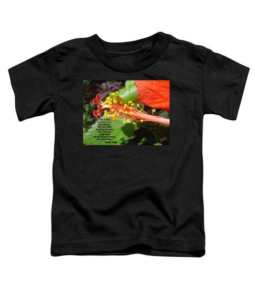 Victor Hugo Toddler T-Shirt