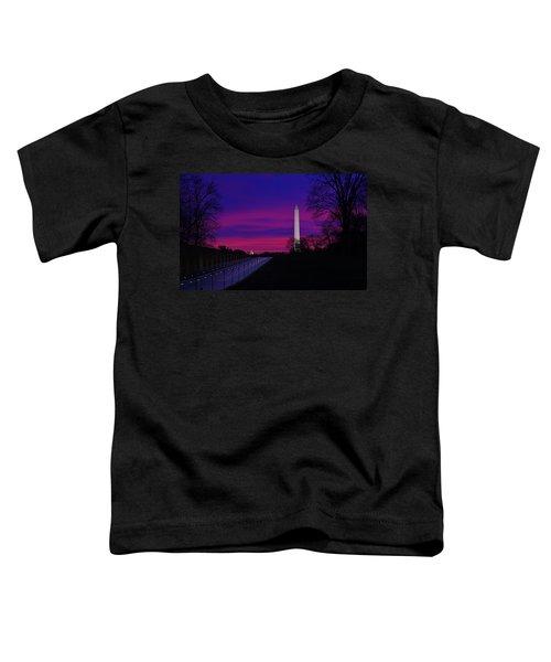 Vietnam Memorial Sunrise Toddler T-Shirt