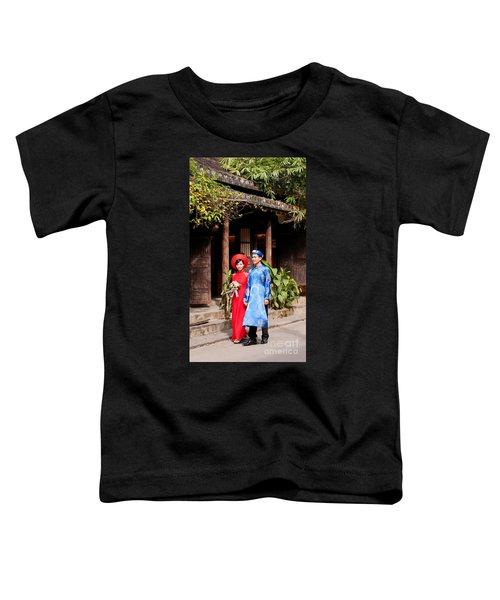 Vietnamese Wedding Couple 01 Toddler T-Shirt