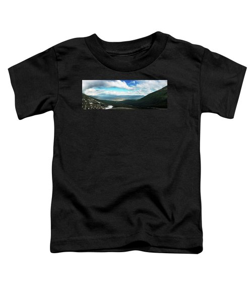 View From Martial Glacier, Ushuaia Toddler T-Shirt