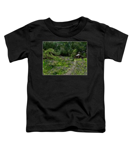 A Lupine Tale  Vincents View Toddler T-Shirt