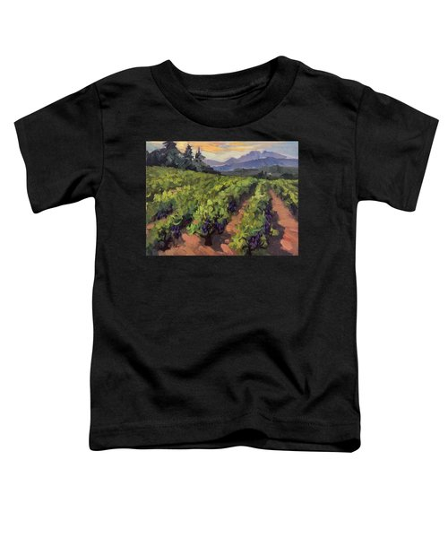 Vineyard At Dentelles Toddler T-Shirt