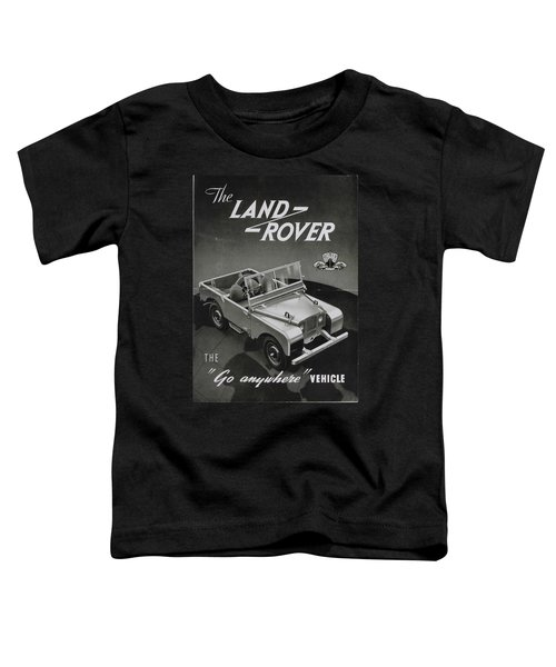 Vintage Land Rover Advert Toddler T-Shirt