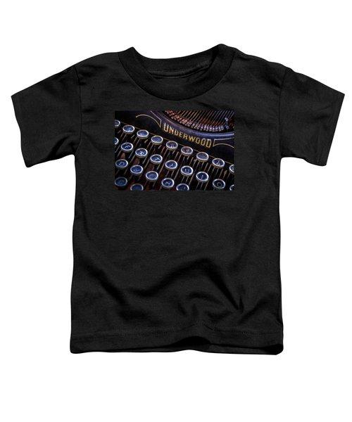 Vintage Typewriter 2 Toddler T-Shirt