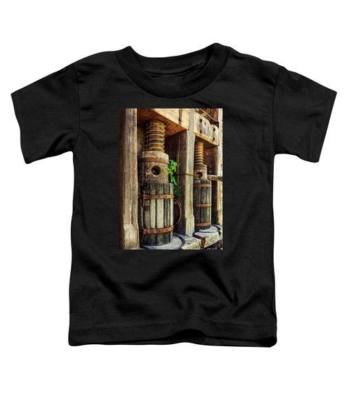 Vintage Wine Press Toddler T-Shirt