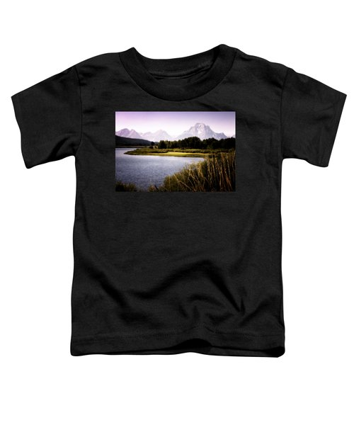 Violet Tetons Toddler T-Shirt