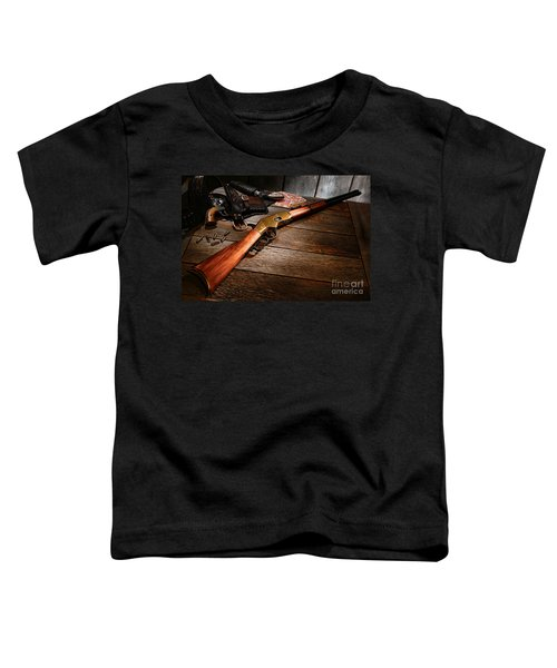 Waiting For The Gunfight Toddler T-Shirt