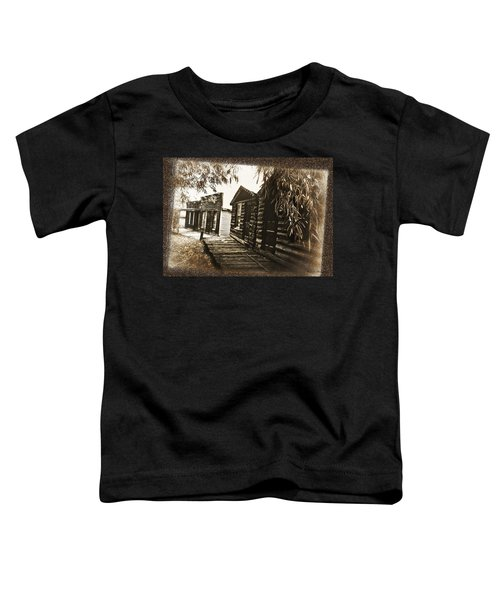 Toddler T-Shirt featuring the photograph Walking Backwards by Susan Kinney