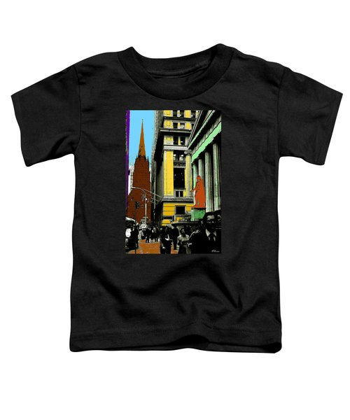 New York Pop Art 99 - Color Illustration Toddler T-Shirt