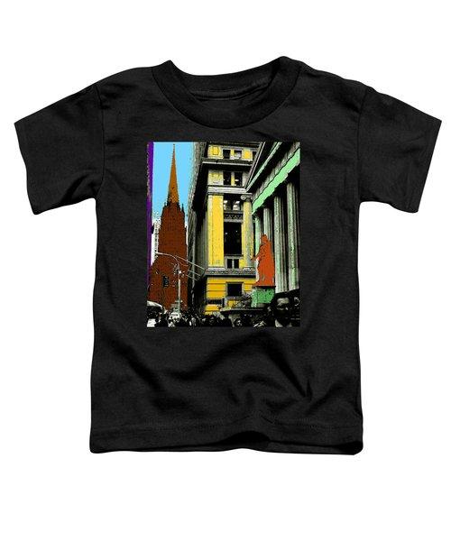 New York Pop Art 99 - Color Illustration Toddler T-Shirt