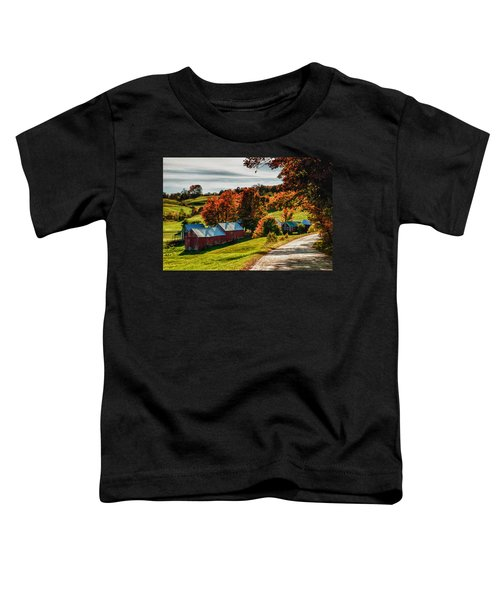 Wandering Down The Road Toddler T-Shirt