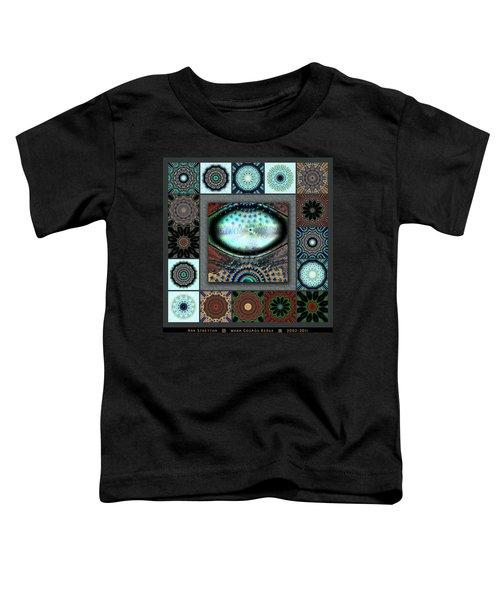 Warm Cosmos Redux Toddler T-Shirt
