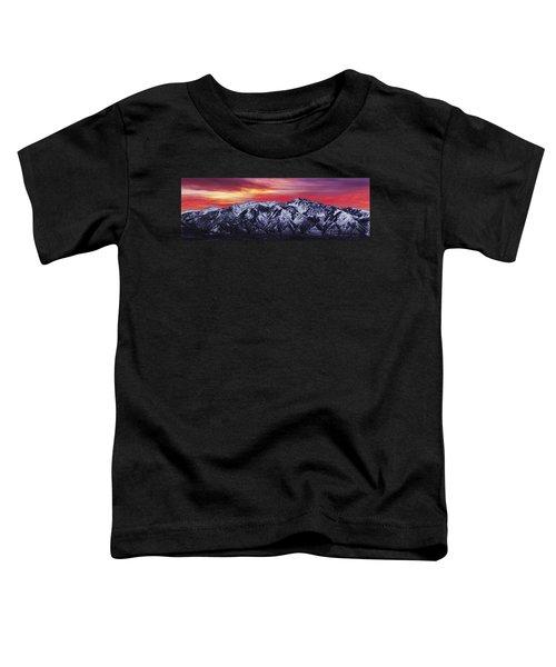 Wasatch Sunrise 3x1 Toddler T-Shirt