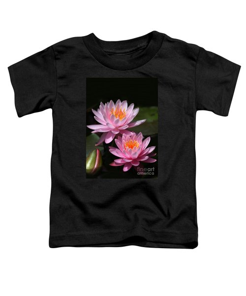 Water Lilies Love The Sun Toddler T-Shirt