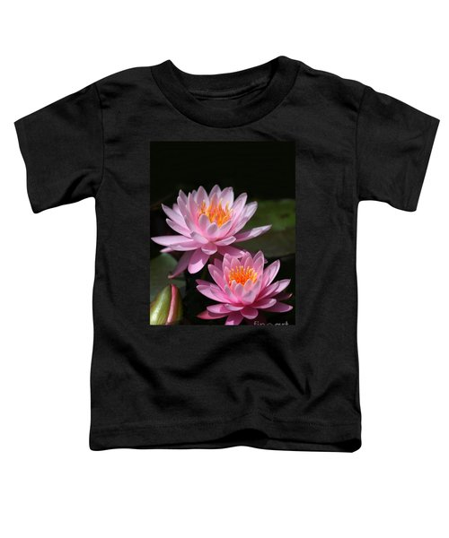 Water Lilies Love The Sun Toddler T-Shirt