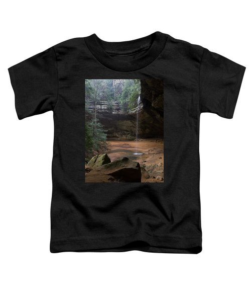 Waterfall At Ash Cave Toddler T-Shirt