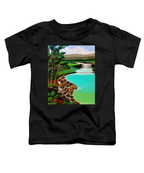 Waterfalls Toddler T-Shirt