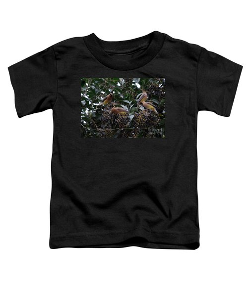 Wax Wings Supper  Toddler T-Shirt by Skip Willits