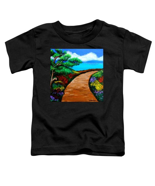 Way To The Sea Toddler T-Shirt