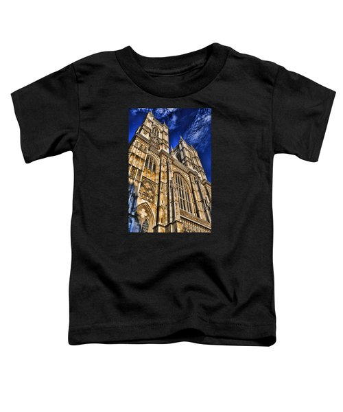 Westminster Abbey West Front Toddler T-Shirt by Stephen Stookey