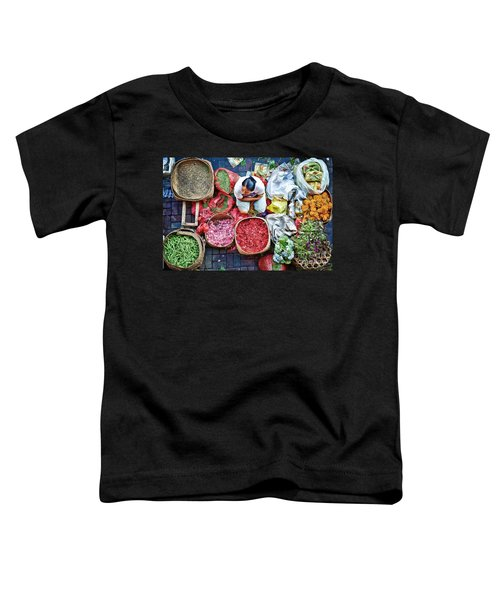 Wet Market In Ubud Toddler T-Shirt
