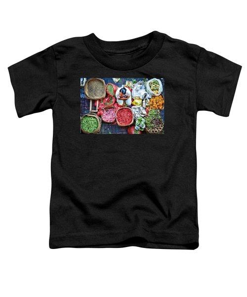 Wet Market In Ubud Toddler T-Shirt