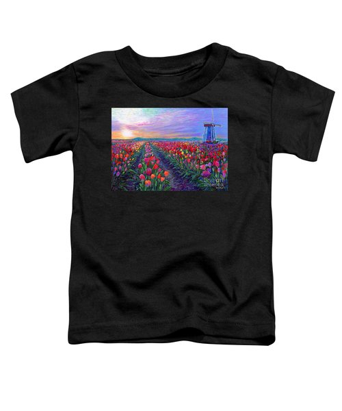 Tulip Fields, What Dreams May Come Toddler T-Shirt