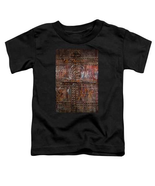 Marrakech Door Toddler T-Shirt