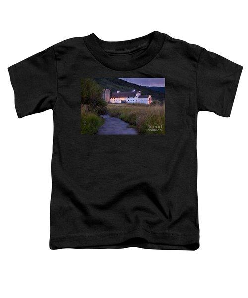 White Barn Toddler T-Shirt