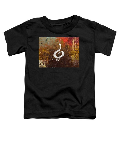 White Clef Toddler T-Shirt